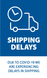 DUE TO COVID-19 WE ARE EXPERIENCING DELAYS IN SHIPPING