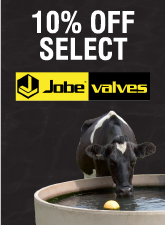 10% Off Select Jobe Valves