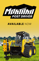 AVAILABLE NOW - MONTANA POST DRIVER